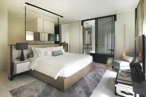 Coco Chanel themed rooms at the Naumi Singapore