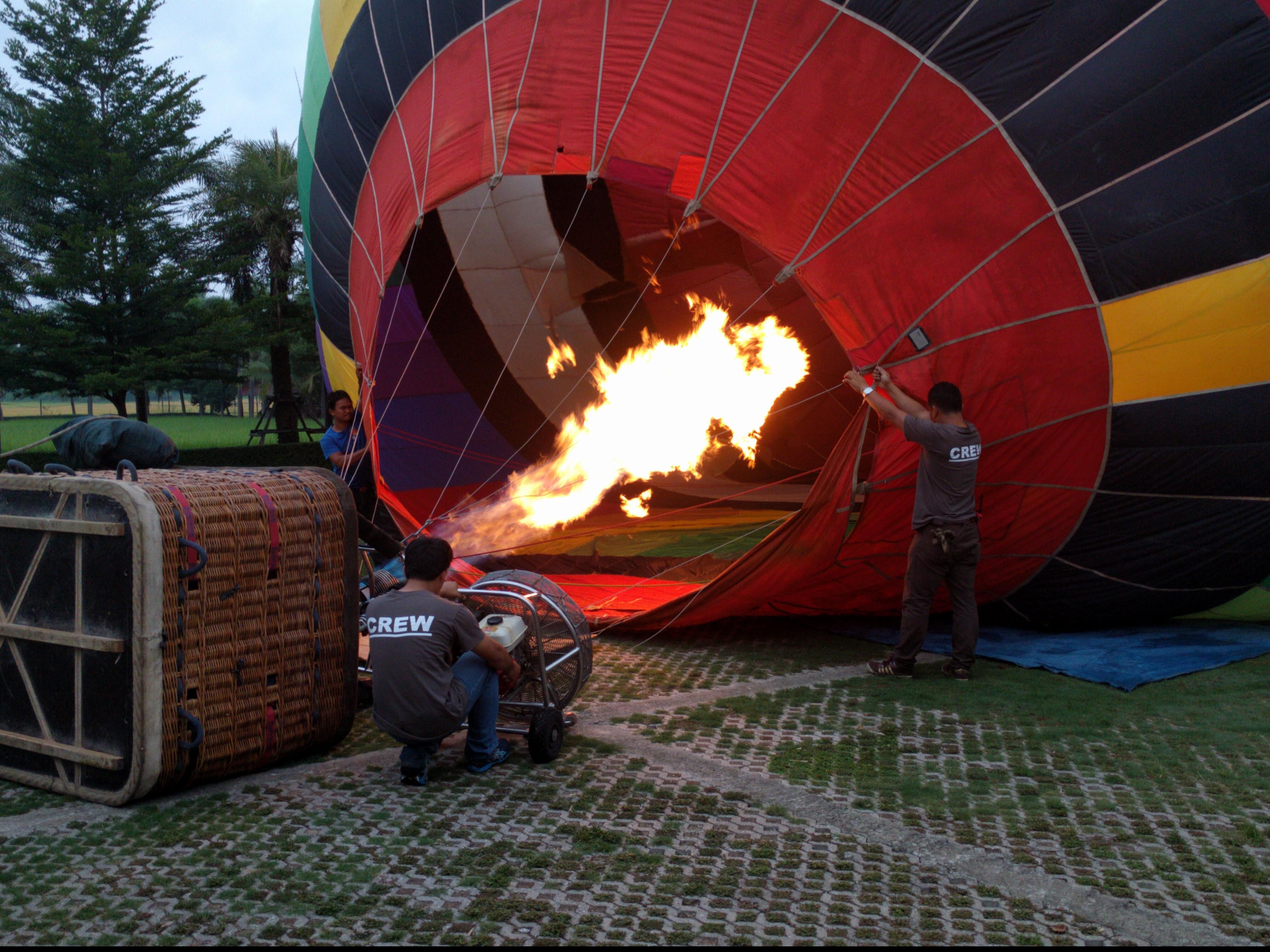 Ballooning in Chiang Mai
