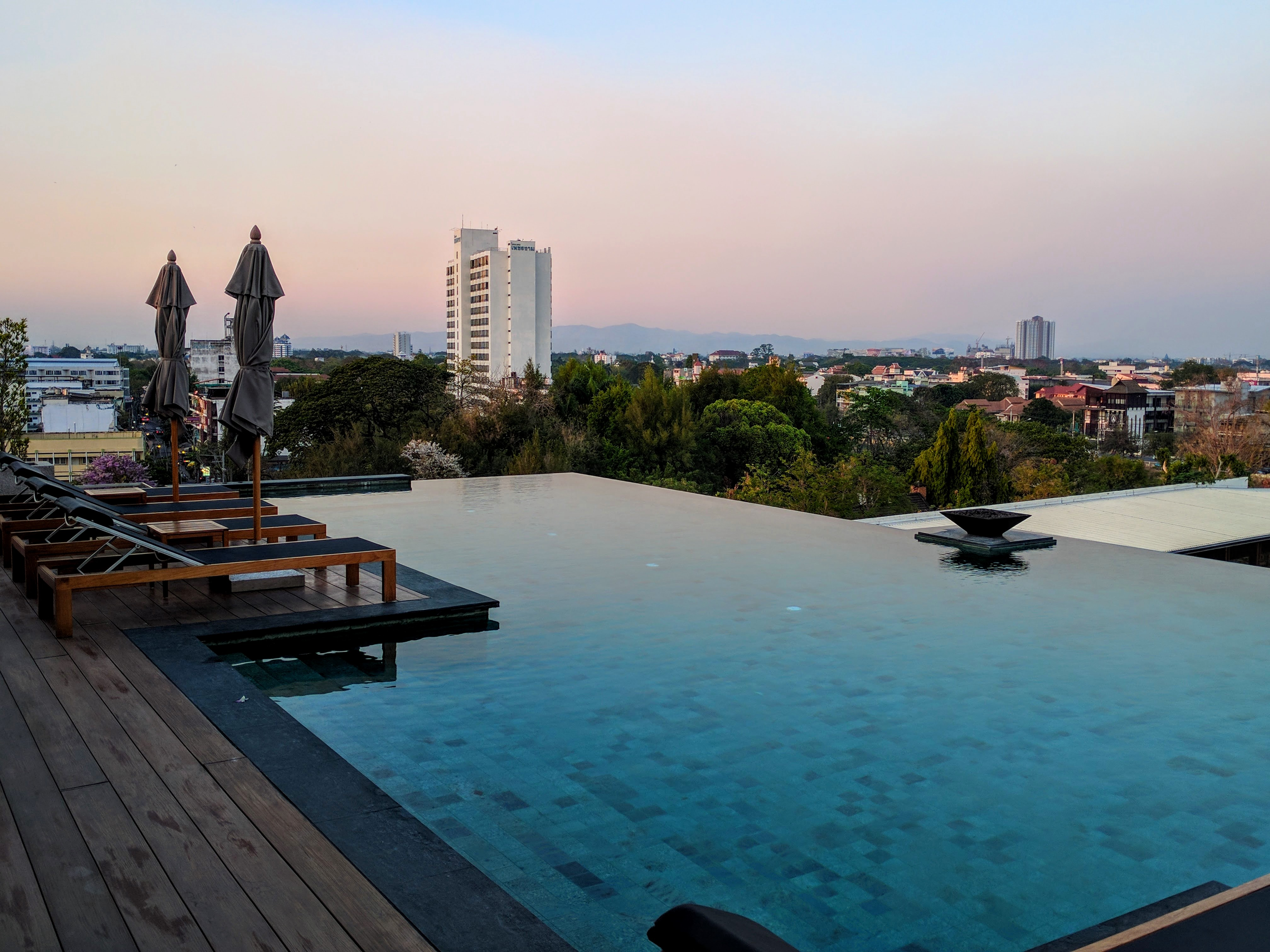 Rooftop pool Chiang Mai
